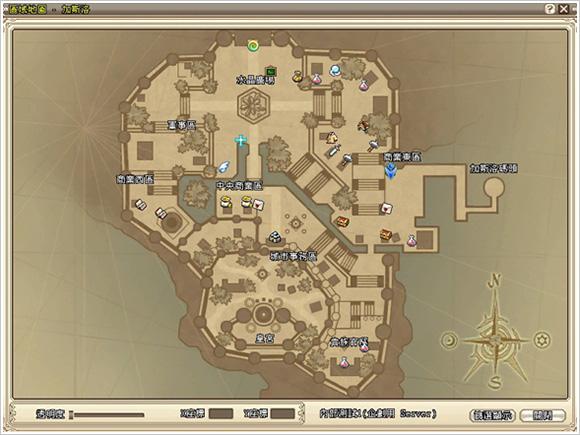 地图标示说明